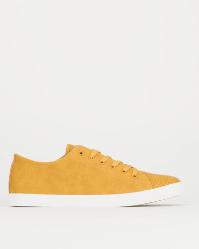 Tom_Tom TTM Light Basic Sneakers Mustard/ White