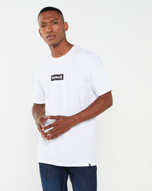 Hurley PRM One & Only Small Box Tee White