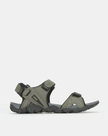 Jeep Adhesive Strap Open Adventure Sandals Grey