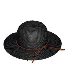 360Five Kiera Capeline Sunhat Black