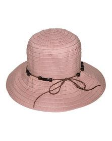 360Five Aniston Bucket Sunhat Old Rose