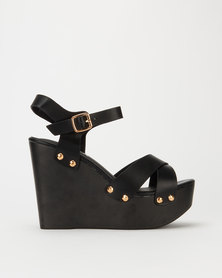 Utopia High Wood Wedge Black