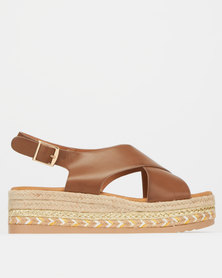 Utopia Crossover Front Flatform Camel