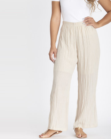 Contempo Ghost Voile Pants Stone