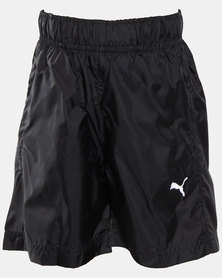Puma Sportstyle Core Boys Woven Bermuda Shorts Black