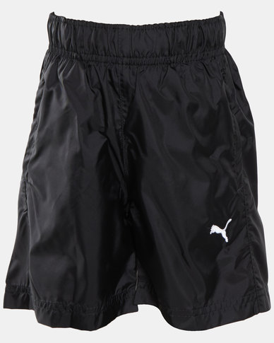 Puma Sportstyle Core Boys Woven Bermuda Shorts Black