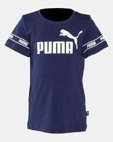 Puma Sportstyle Core Boys Amplified Tee Peacoat