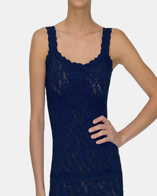 Hanky Panky Signature Lace Classic Camisole - Navy Blue