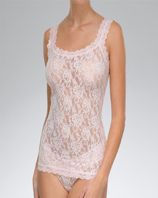 Hanky Panky Signature Lace Classic Camisole - Pale Pink