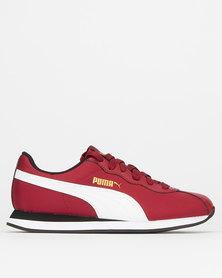Puma Sportstyle Core Boys Rhubarb Turin II  Sneakers Red
