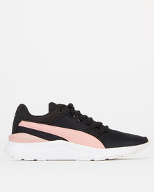 Puma Sportstyle Core Girls Adela Sneakers Black-Bridal Rose
