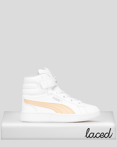 Puma Sportstyle Core Girls Vikky V2 Mid Sneakers White