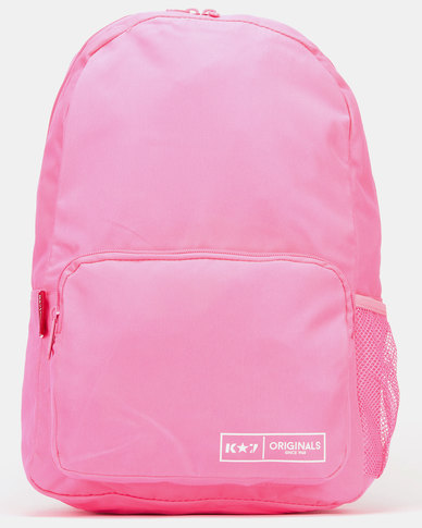 K-Star 7 Bear Backpack Pink