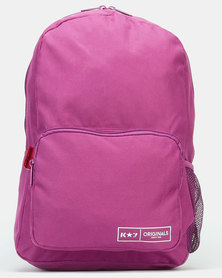 K-Star 7 Bear Backpack Purple