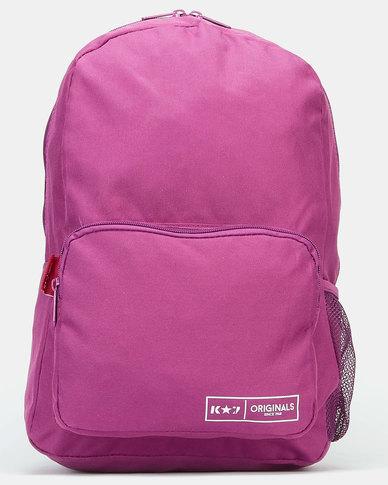 K-Star 7 Bear Backpack Purple