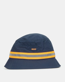 K-Star 7  Reaction Bucket Hat Navy