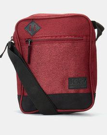 K-Star 7 Jones Messenger Bag Burgandy