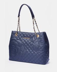 Louis Cardy Handbag Navy