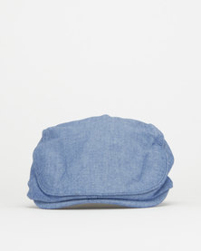 Klevas News Cap Blue