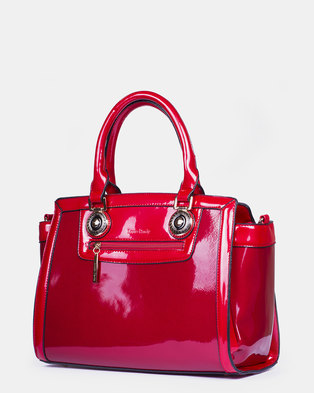 Louis Cardy Handbag  Red