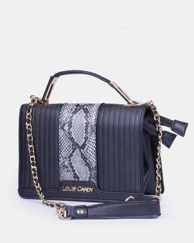Louis Cardy Handbag Black