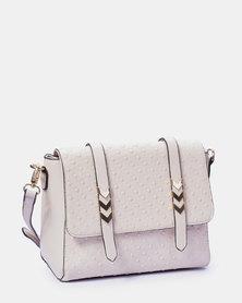 Louis Cardy Handbag Beige