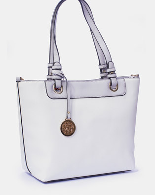Louis Cardy Handbag White