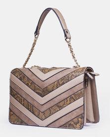 Louis Cardy Handbag Nude