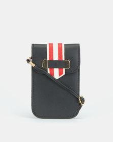 Blackcherry Bag Striped Micro Bag Black