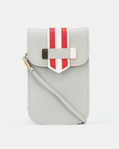 Blackcherry Bag Striped Micro Bag Grey