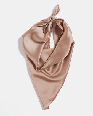Blackcherry Bag Silky Scarf Beige