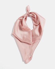 Blackcherry Bag Silky Scarf Dusty Pink
