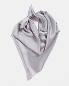 Blackcherry Bag Silky Scarf Grey