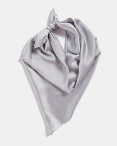 Blackcherry Bag Silky Scarf Grey