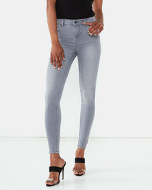 New Look Mid Supersoft Superskinny Jeans Grey Smokey