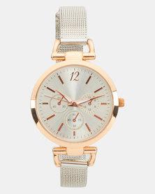 New Look D-Link Mesh Strap Watch Multi