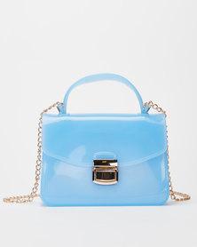 Utopia Small Jelly Crossbody Bag Blue