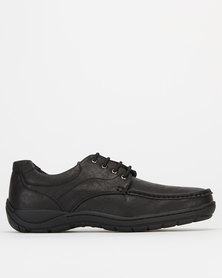 Solemates Kendrick Casual Lace Up Shoes Black