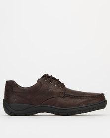 Solemates Kendrick Casual Lace Up Shoes Choc