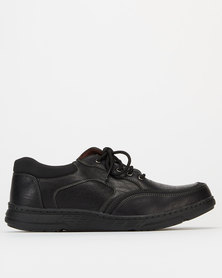 Solemates Humphery Casual Lace Up Shoes Black