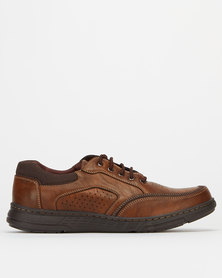 Solemates Humphery Casual Lace Up Shoes Choc
