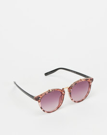 Utopia Colour Lense Sunglasses Tortoise Shell/Red