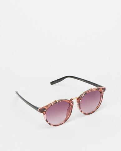 Utopia Colour Lense Sunglasses Tortoise Shell/Red