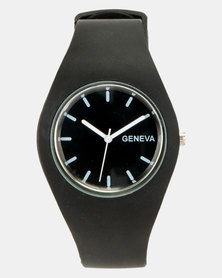 Utopia Jelly Watch Black