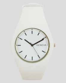 Utopia Jelly Watch White