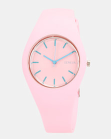 Utopia Jelly Watch Pink