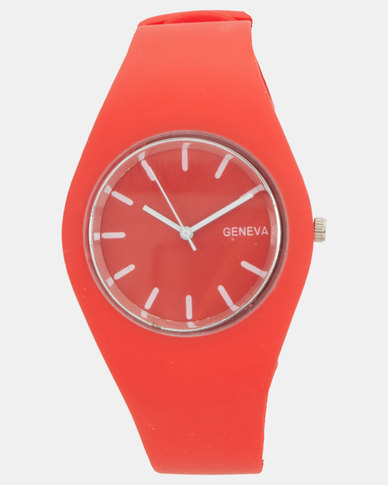 Utopia Jelly Watch Red
