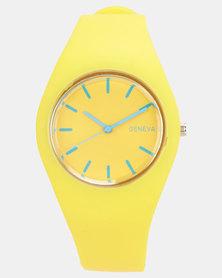Utopia Jelly Watch Yellow