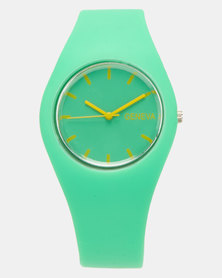 Utopia Jelly Watch Green