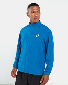 ASICS Silver Jacket Blue